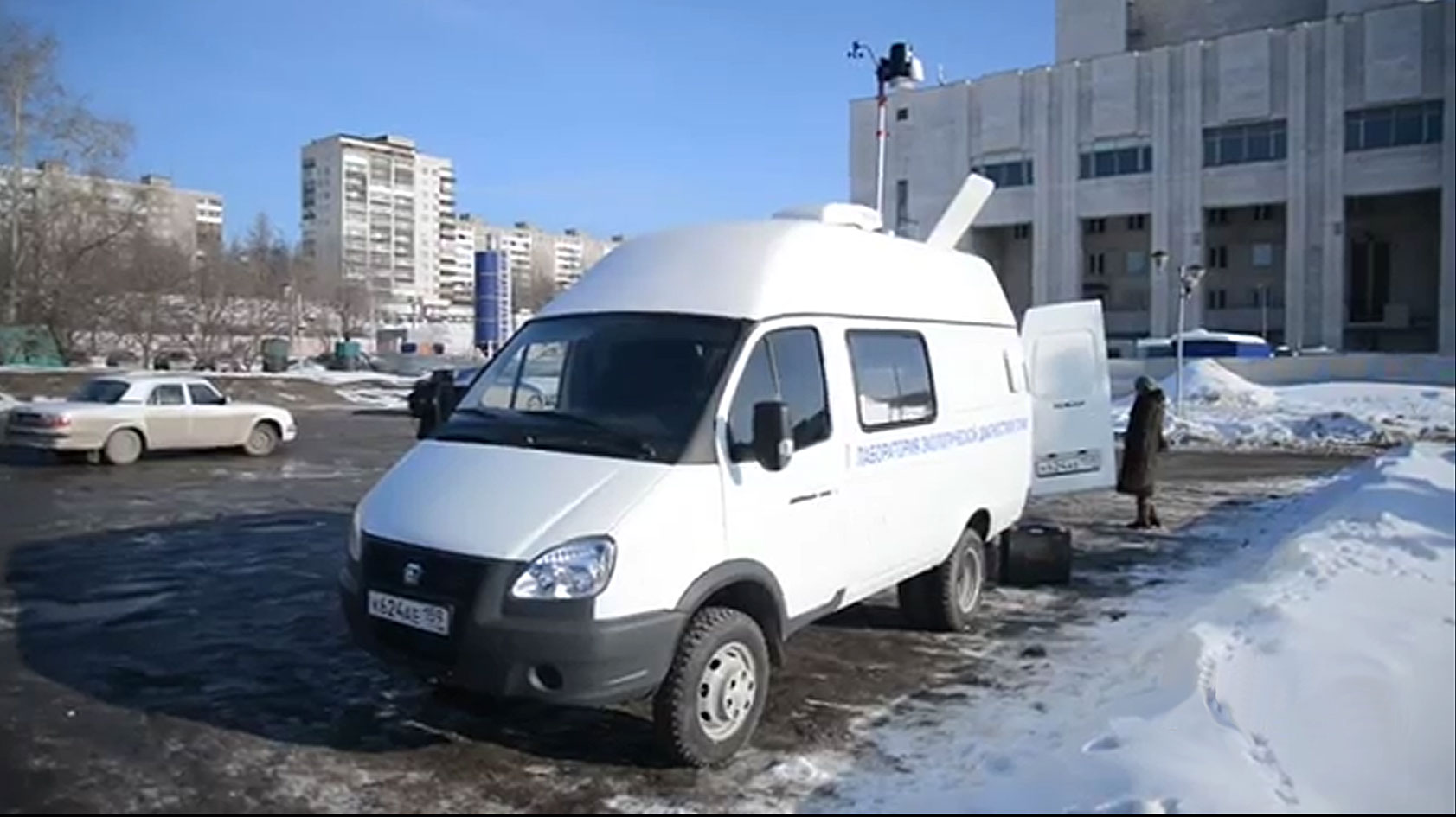 Мобильная экологическая лаборатория в Перми